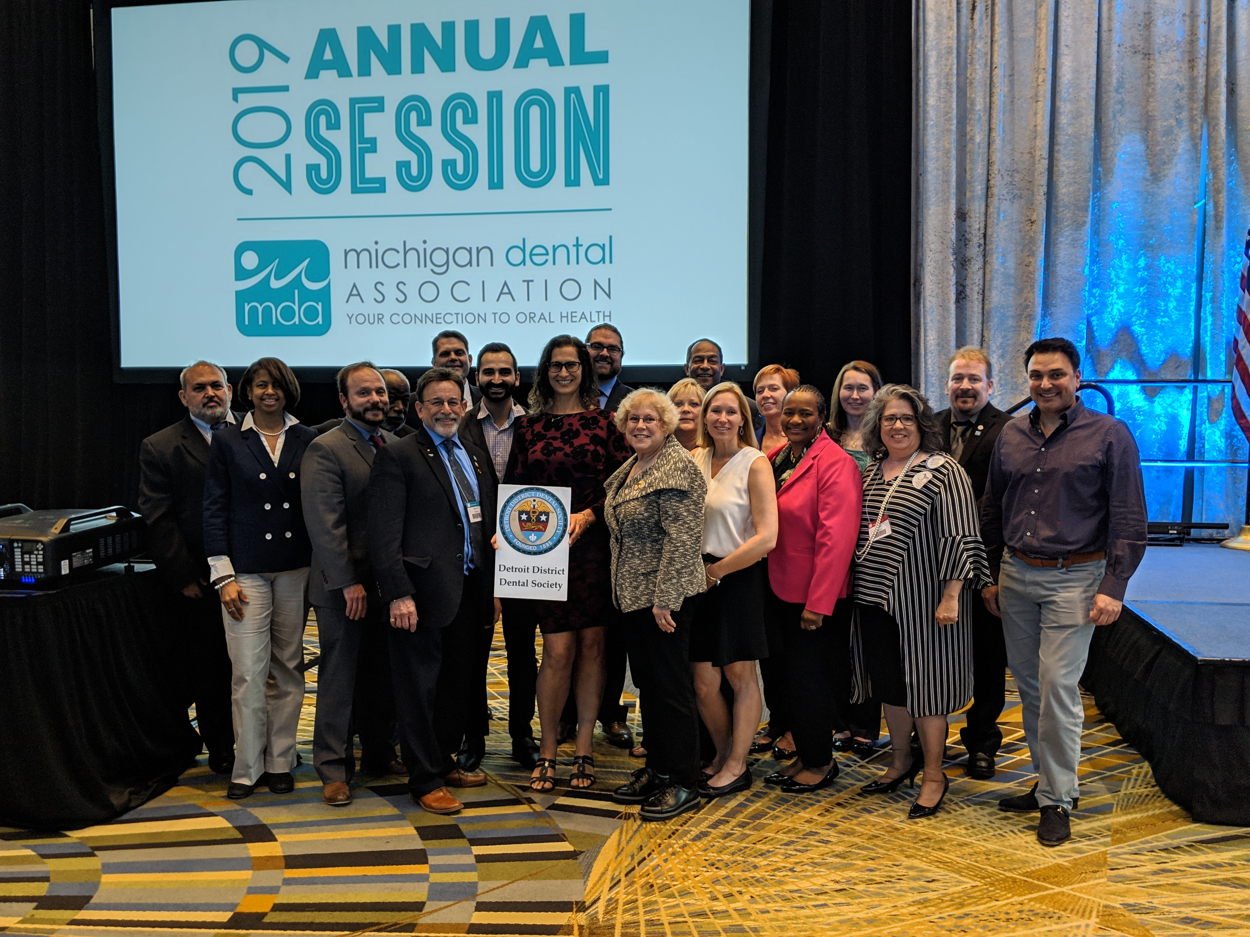 Detroit Dentists Delegates MDA Annual Meeting 2019