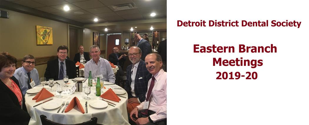 DDDS Eastern Branch Meetings