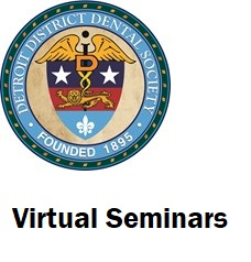 Detroit District Dental Society Virtual Seminar Logo